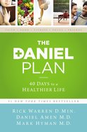 The Daniel Plan: 40 Days to a Healthier Life Hardback