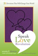 The Speak Love Revolution Paperback