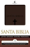 Biblia Letra Grande Tamao Personal (Red Letter Edition) (Spanish Large Print Hand Size) Imitation Leather