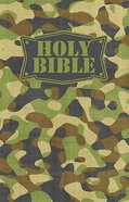 NKJV Camouflage Bible Green (Red Letter Edition) Fabric