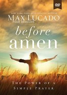 Before Amen (Study Guide With Dvd)