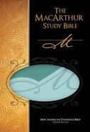 NASB Macarthur Study Bible Green Thumb Indexed Imitation Leather