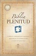 Rvr 1960 Biblia Plenitud Con Indice (Red Letter Edition) (Spirit Filled Life Bible) Hardback