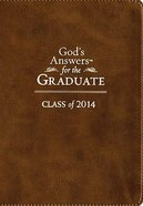God's Answers For the Graduate: Class of 2014 - Brown (Nkjv) Imitation Leather