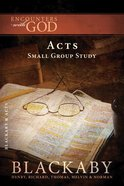 Acts (Blackaby Bible Basics Series) Paperback
