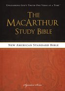 NASB Macarthur Study Bible Signature Series