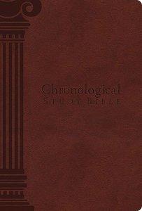 NKJV Chronological Study Bible Auburn (Black Letter Edition)
