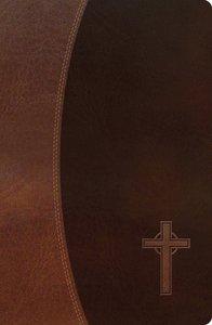 NKJV Gift Bible Dark Brown/Brown (Red Letter Edition)
