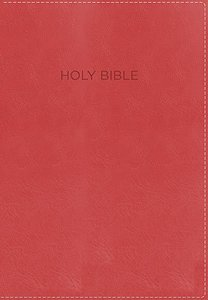 NKJV Foundation Study Bible Coral (Red Letter Edition)