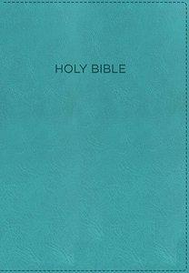 KJV Foundation Study Bible Aqua (Red Letter Edition)
