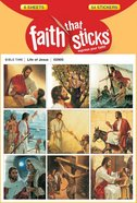 Life of Jesus (6 Sheets, 54 Stickers) (Stickers Faith That Sticks Series)
