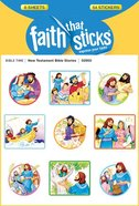 New Testament Bible Stories (6 Sheets, 54 Stickers) (Stickers Faith That Sticks Series)