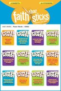 Power Words (1 Sheet, 9 Stickers) (Stickers Faith That Sticks Series)