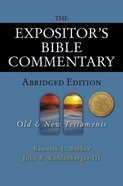 The Expositors Bible Commentary Abridged (2 Volume Set) (Expositors Bible Commentary Series)