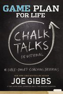 Game Plan For Life Chalk Talks Hardback