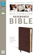 NIV Thinline Reference Bible Burgundy