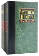 Matthew Henrys Commentary on the Whole Bible (6 Volumes Set)