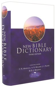 New Bible Dictionary (3rd Edition)