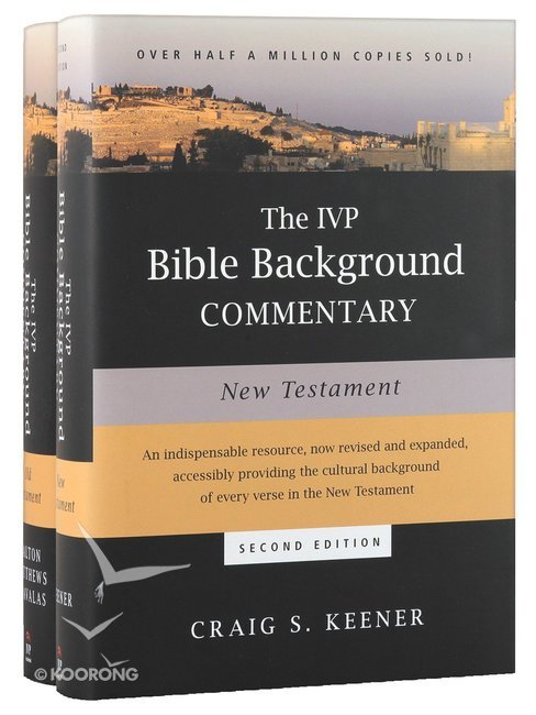 Buy ivp bible background commentary 2 pack 2 vols by john walton buy ivp bible background commentary 2 pack 2 vols by john waltonvictor matthewsmark chavalascraig s keener online ivp bible background commentary fandeluxe Image collections