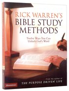 Rick Warren's Bible Study Methods Paperback