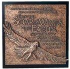 Eagle Moments of Faith Sculpture Plaque