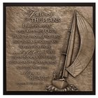 Sailboat Moments of Faith Sculpture Plaque Plaque