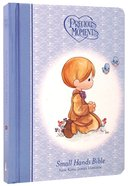 NKJV Precious Moments Holy Bible Blue (Red Letter Edition) (Small Hands Edition)
