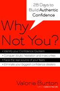 Why Not You? Paperback