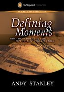 Defining Moments (Study Guide) (North Point Resources Series) Paperback