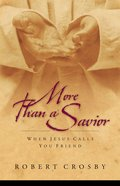 More Than a Savior Paperback
