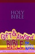 NIRV Gift & Award Bible Burgundy Paperback