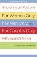 For Women Only and For Men Only Participant's Guide Paperback