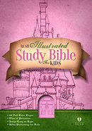 HCSB Illustrated Study Bible For Kids (Girl) Imitation Leather