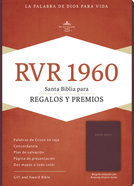 Rvr 1960 Biblia Para Regalos Y Premios Borgona (Red Letter Edition) (Burgundy) Imitation Leather