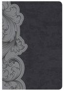 KJV Holman Study Bible Personal Size, Smoke/Slate Imitation Leather