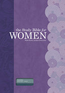 NKJV Study Bible For Women Teal/Sage Indexed Imitation Leather