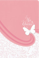 Rvr 1960 Biblia Mis Quince, Rosa Y Blanco Simil Piel Pink/White Imitation Leather