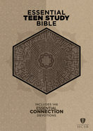 HCSB Essential Teen Study Bible Gray Cork Leathertouch Imitation Leather