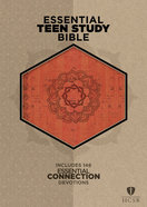 HCSB Essential Teen Study Bible Orange Cork Leathertouch Imitation Leather