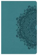 KJV Compact Ultrathin Bible Teal Leathertouch Imitation Leather