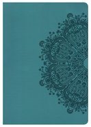HCSB Super Giant Print Reference Bible Teal Leathertouch Imitation Leather