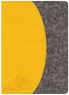 NKJV Holman Study Indexed Bible Canary/Slate Grey Imitation Leather
