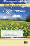What the Bible Says About Prayer (10 Pack) (Spanish)