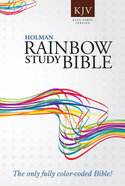 KJV Rainbow Study Bible Paperback