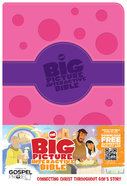 HCSB the Big Picture Interactive Bible For Girls Premium Imitation Leather
