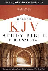 KJV Holman Study Bible Personal Size