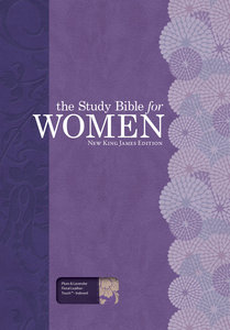 NKJV Study Bible For Women Plum/Lilac Indexed