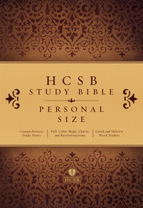 HCSB Study Bible Personal Size