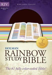 KJV Rainbow Study Bible Brown