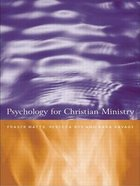 Psychology For Christian Ministry Paperback